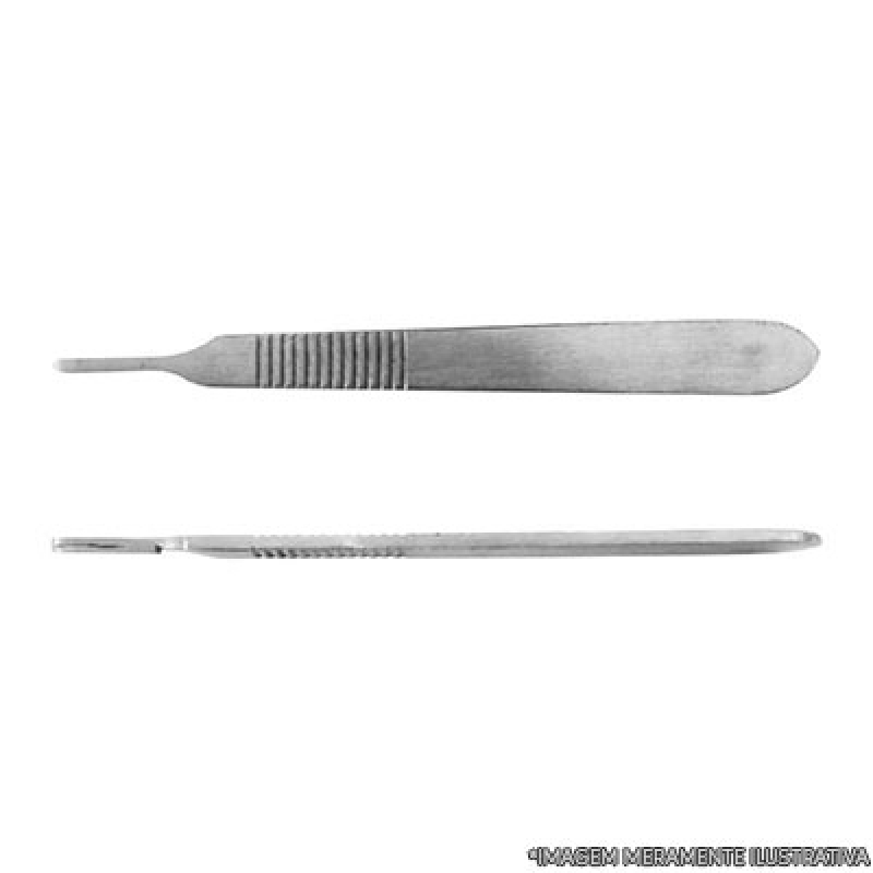 Conserto de Bisturi de Aço Inox Valores M'Boi Mirim - Conserto de Bisturi Cirúrgico